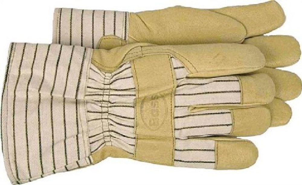 Gloves, Men's Lined, Leather Palm Work Glove,  X Large