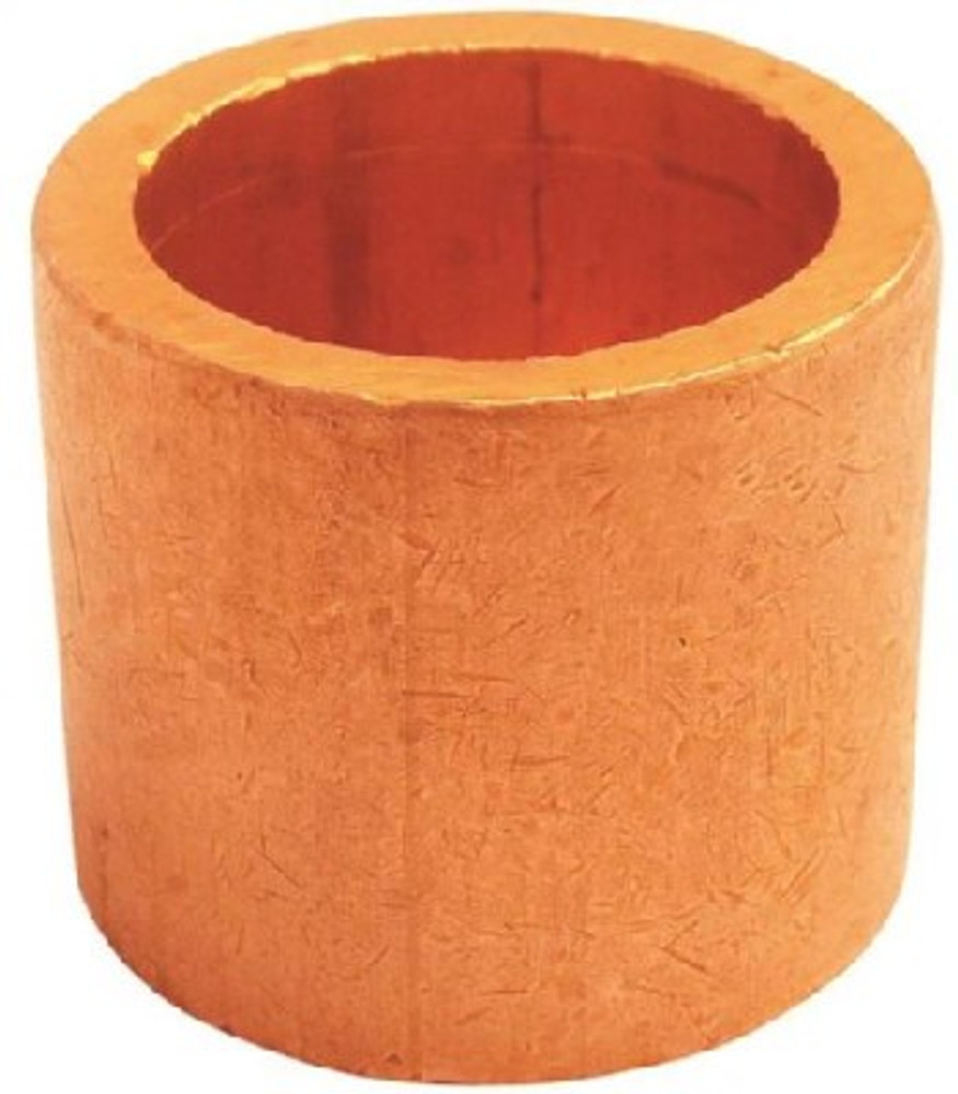 "Copper Fitting, 1"", CXC, Copper Reducing Bushing x 3/4"""