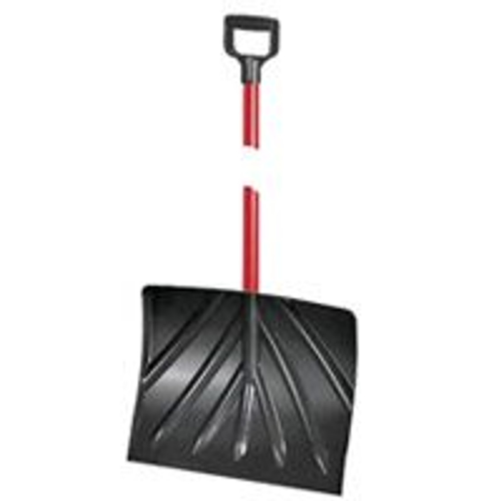 "Snow Shovel With 18"" Poly Blade & D Handle"