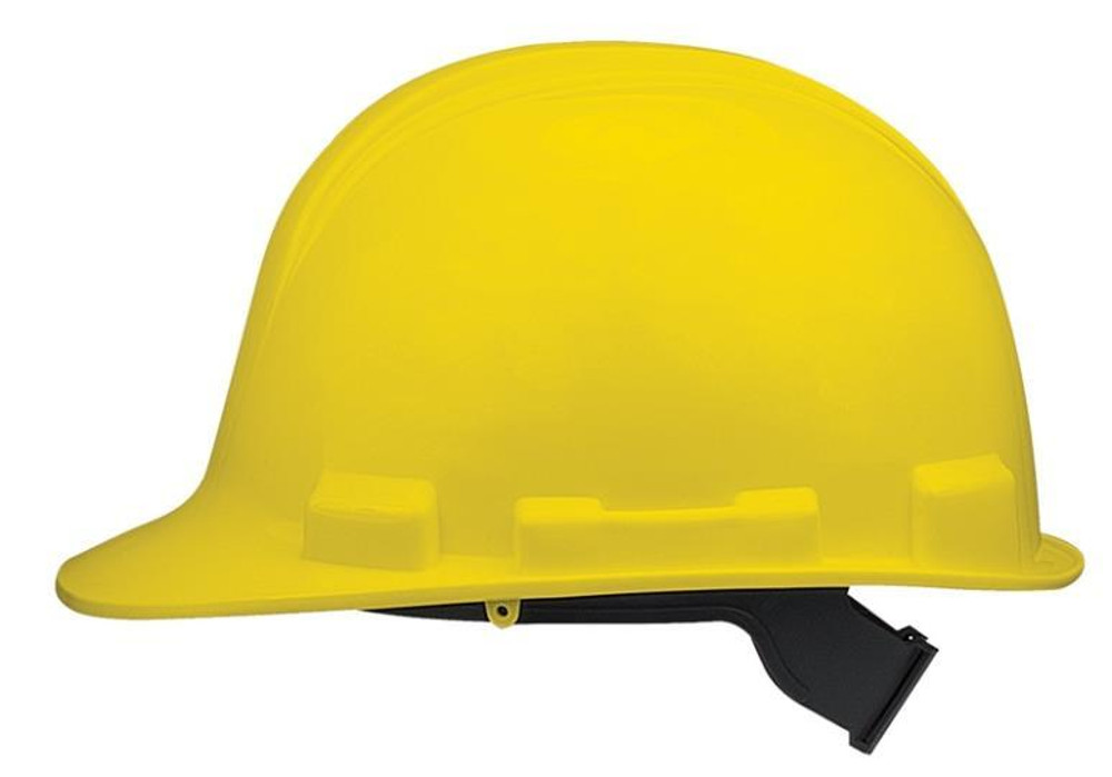 Hard Hat, Yellow, With Adjustable Head Band