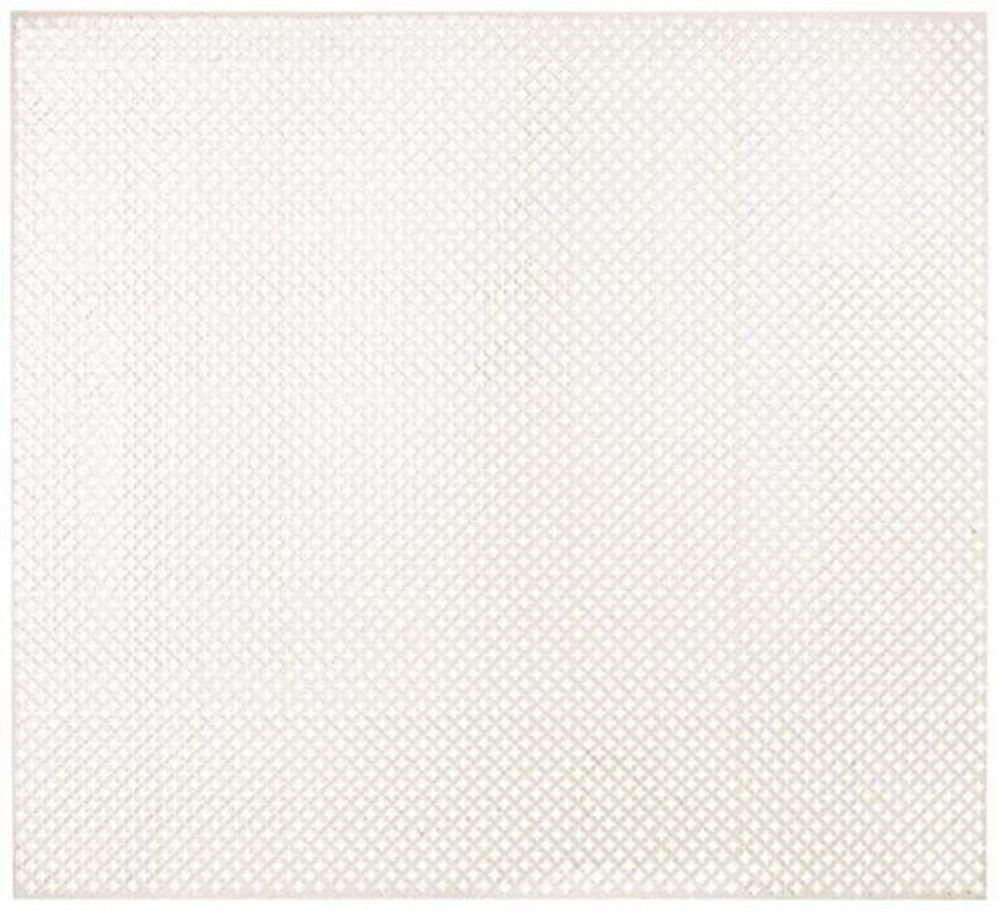 """Aluminum Sheet, 36"""" x 36"""" x .02""""', Cloverleaf Cutout, Mill Finish"""