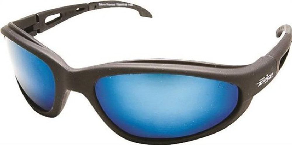 Safety Glasses, Aqua Precision Blue Mirror Scratch Resistant Lens