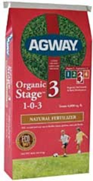 Agway Organic Fertilizer Step 3,  1-0-3  40 Lb Bag