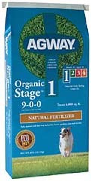 Agway Organic Fertilizer, 9-0-0, 40 Lb Bag