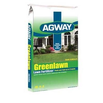 Agway, Greenlawn Lawn Fertilizer, 30-0-30, 15 Lb, 5M