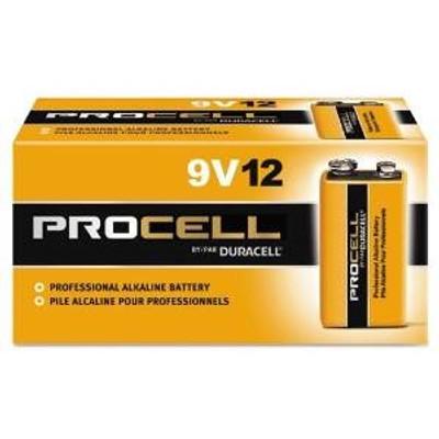 ProCell, 9 Volt Bulk Battery, 12 Pack