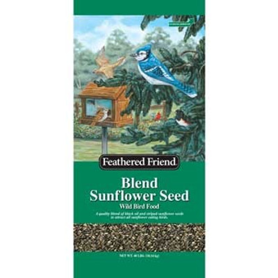 Feathered Friend, Blend Sunflower Seed, 40 Lb
