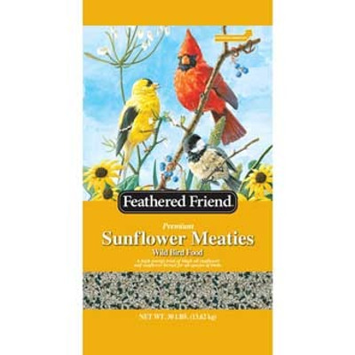Feathered Friend, Sunflower Meaties, 30 Lb Bag