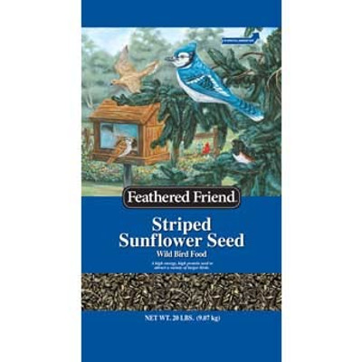 Feathered Friend, Striped Sunflower Seed 40LB