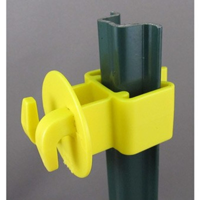 Electric Fence U Post Insulator 25 Pk f/Wire