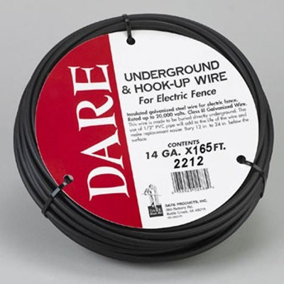 Electric Fence Burial Wire 14GA 165'