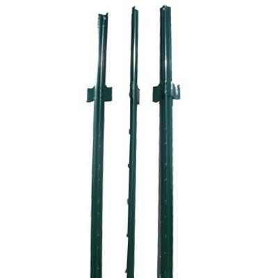 Fence U Post, 6', Green Heavy Duty