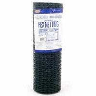 "Poultry Netting 1"" x 36"" x 150'  Black Vinyl Coated"