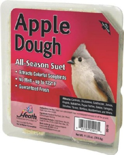 Heath, Apple Dough Suet Cake, 11.25 Oz