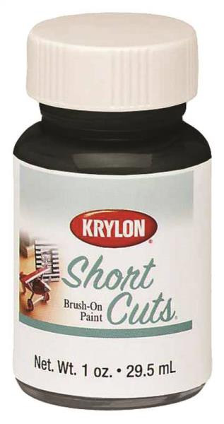 Krylon Gloss Black Brush-On 1 Oz