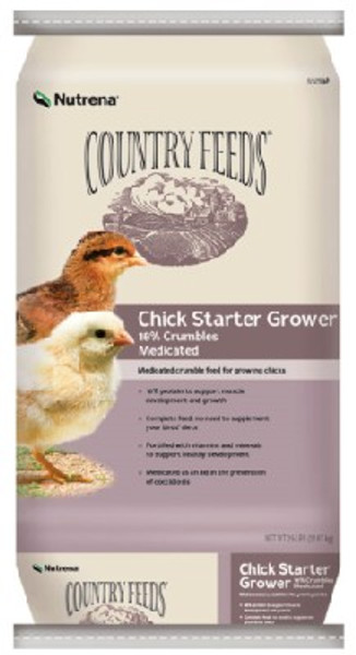 Country Feeds Chick Starter CR Medicated 50 Lb