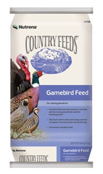 Country Feeds Gamebird Starter 50 Lb 28%