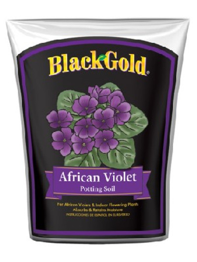 Black Gold African Violet Potting Soil, 8 Quart