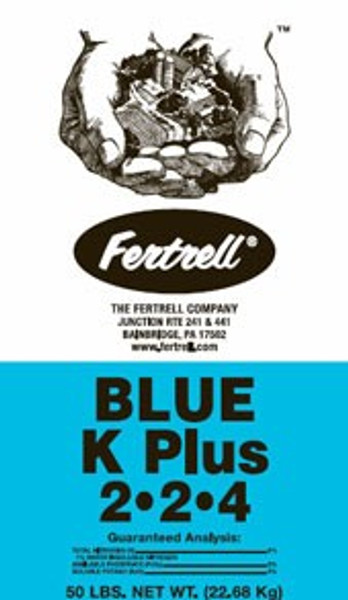Fertrell Blue-K-Plus, Organic Fertilizer, 2-2-4, 50 Lb