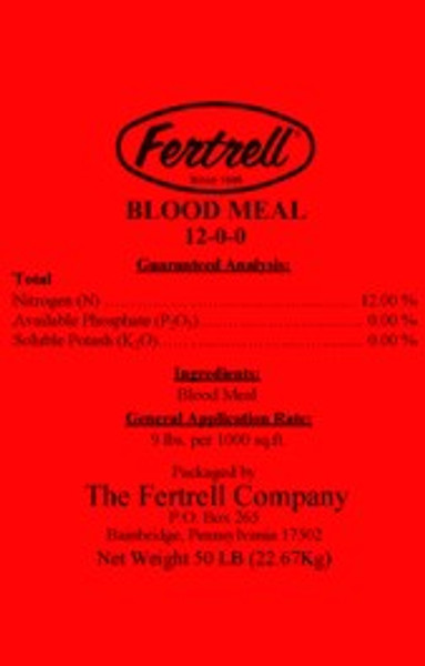 Fertrell Blood Meal, 12-0-0, 50 Lb