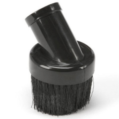 Shop-Vac 9061500 Round Brush, For Use with 1-1/4 in Hose, Plastic, Black