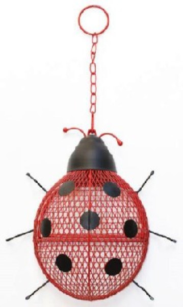 Ladybug Mesh Bird Feeder