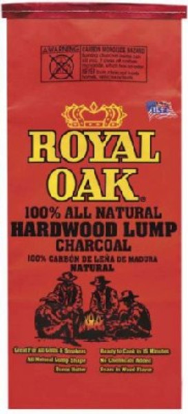 Royal Oak Natural Charcoal Lump, 8 lb Bag