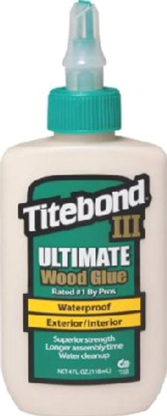 Titebond III Wood Glue   4 Oz