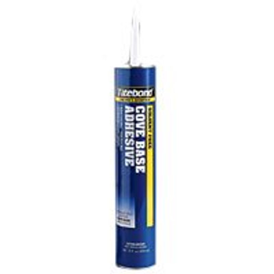 Titebond Cove Base Adhesive, 29 Oz Cartridge