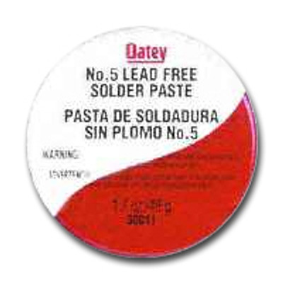 Paste Flux No 5, 4 Oz