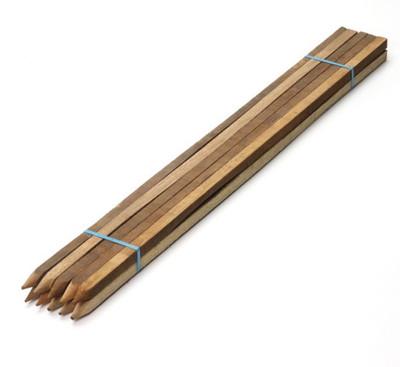 "Hard Wood Garden Stake, 6' x 1"" x 1"""