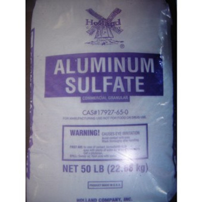 Aluminum Sulfate Fertilizer, 50 Lb