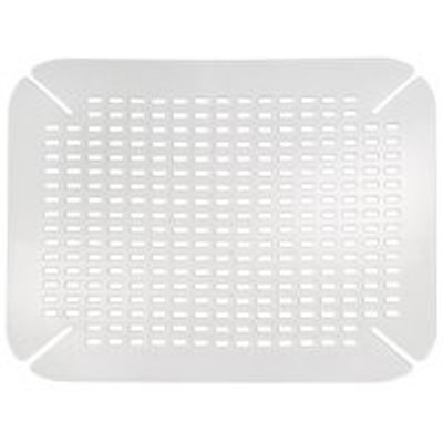 "Sink Mat - Clear- Large 14"" X 16"""
