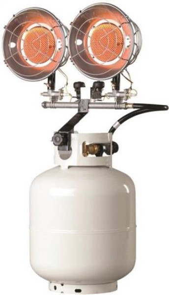 Propane Radiant Heater Double Head