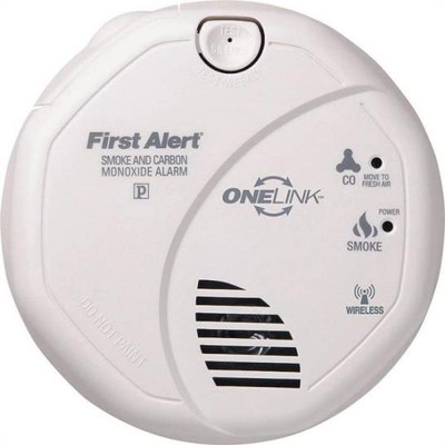 Carbon Monoxide/Smoke Detector Wireless SC0501CN-3ST