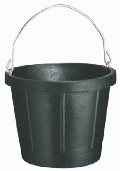 Rubber Pail,   8 Quart