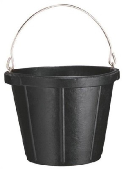 Rubber Pail, 10 Quart