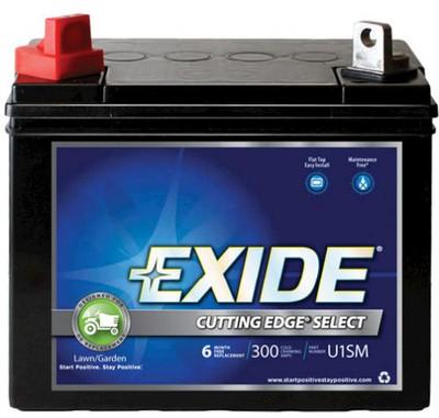 Exide U1SM/GTX, Tractor Battery, 12 V, 300 CCA