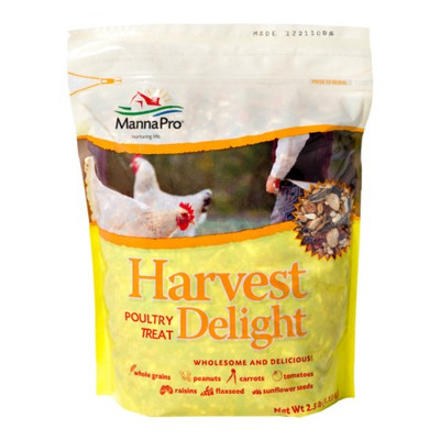 Manna Pro, Harvest Delight Poultry Treat, 2.5 Lb