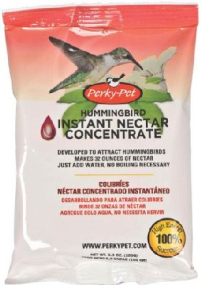 Instant Nectar For Humminbirds, 5.3 Oz Powder Makes 1 Quart