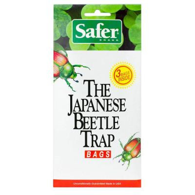 Japanese Beetle Trap Bag 3 Pk