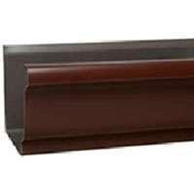 "Aluminum Gutter, Brown 5"" x 10'"