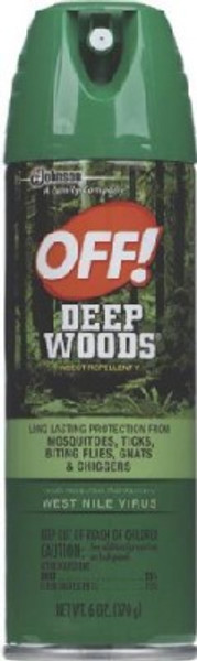 OFF! Unscented Deep Woods, 6 Oz