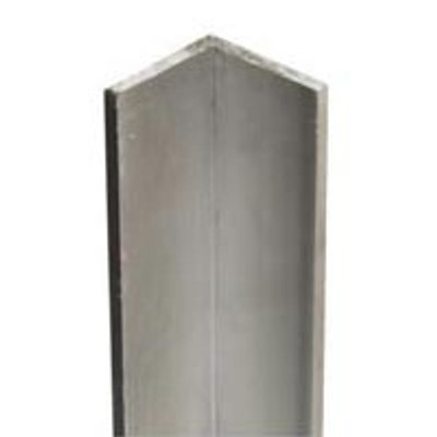 "Steel Angle Bar, 3/4"" x 36"" x 12 Ga, Zinc Plated"