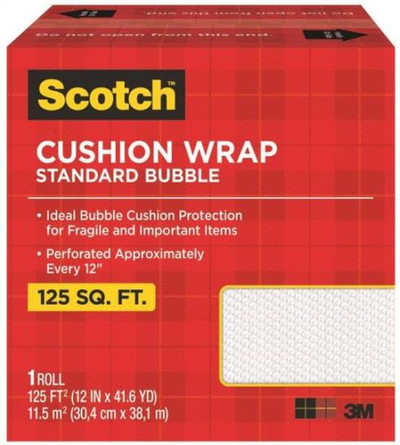 "3M Bubble Wrap 12"" x 125 '"