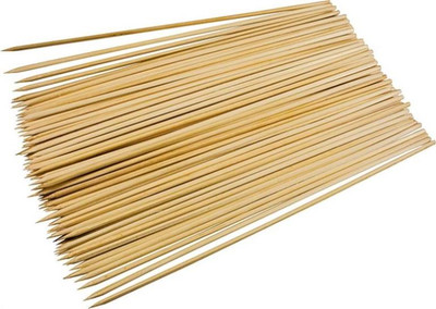 "Skewers, Bamboo, 12"", 100 Pack"