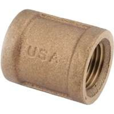 "1"" Brass Coupling"