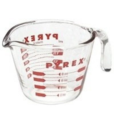 Measure Cup, 1 Cup, Glass