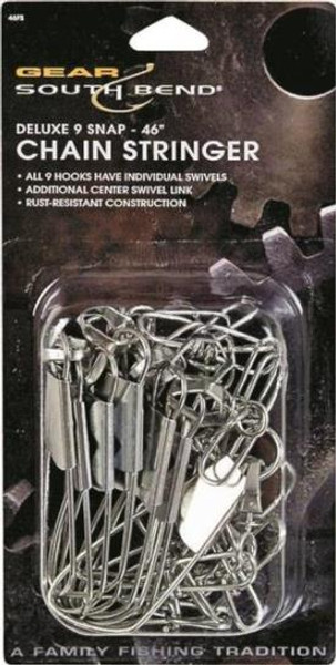 Fishing Snap Swivel Chain Asst 9 Pieces
