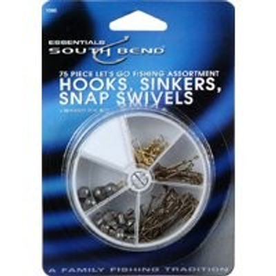 Fishing Hook-Sinker-Swivel Assortment
